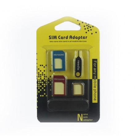 Nano and Micro SIM Card Adapters - تبدیل سیم کارت نانو و میکرو فلزی