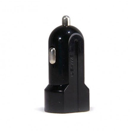 Usams Dual USB 1+2.1A Car Charger - شارژر فندکی USAMS با دو پورت و 1+2.1 آمپر بدون کابل