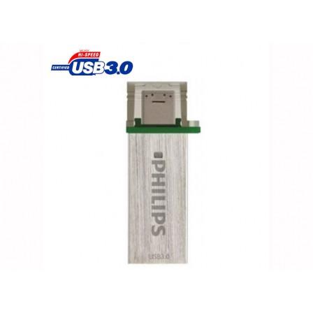 Philips Mono OTG Flash Memory - USB3.0 - 8GB - فلش مموری OTG USB3 فیلیپس مدل Mono با ظرفیت 8 گیگابایت