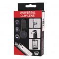 Universal LQ-001 3 In 1 Clip Lens - لنز کلیپسی  مدل LQ-001  سه عدد در یک بسته
